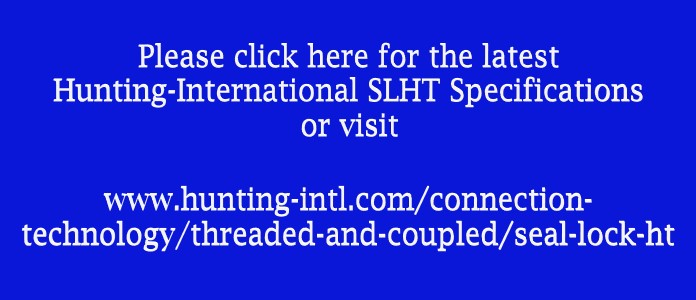 HUNTING SLHT Specifications
