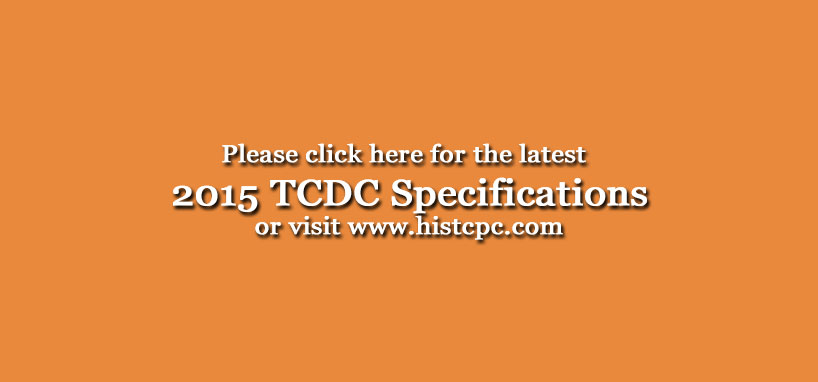 TCDC Specifications